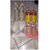 Lote de Sapato Meninas - 28 - varios