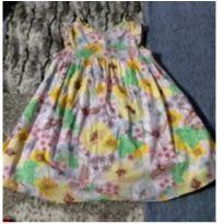 Vestidinho florido - 3 anos - Green