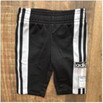 Calça esportiva Adidas baby preta - 0 a 3 meses - Adidas