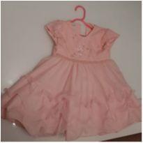 Vestido de festa para bebê tamanho 1 - 1 ano - Não informada