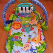 Tapete de atividade para bebê musical piano -  - Fisher Price