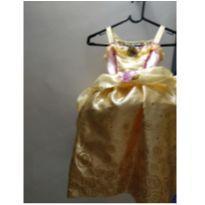 Fantasia / vestido Bela e a fera Disney - 4 anos - Disney