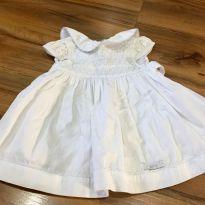 Vestido delicado para batizado - 3 a 6 meses - Speed