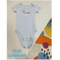 Body RN Carters - Recém Nascido - Carter`s