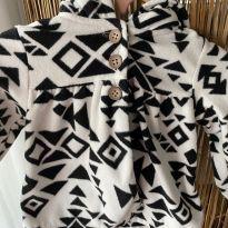 Casaco bem quentinho de capuz fleece carters - 9 a 12 meses - Carter`s