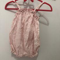 Romper Rosa H&M baby - 3 a 6 meses - H&M