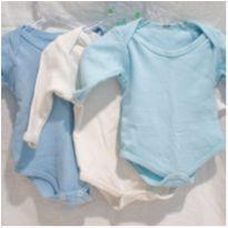 Kit 3 body`s - 0 a 3 meses - Body Baby e Rouparia bebê