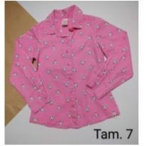 Camisa importada manga longa - 7 anos - Gymboree