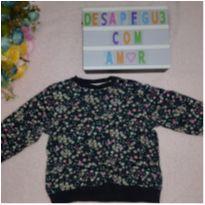 Blusa TexBaby floral (3 meses) - 3 meses - Tex