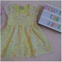 Vestido passarinho Milon (Tam.M) - 0 a 3 meses - Milon