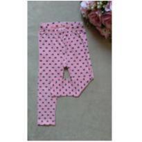 Calça rosa corações BabyClub 1 ano - 1 ano - Baby Club