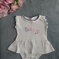 Body Baby Club Poá Lindo! 0-3 meses - 0 a 3 meses - Baby Club