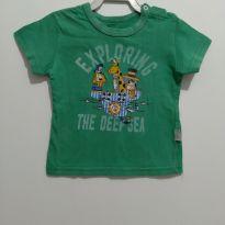 Blusa verde Alakazoo 9-12 meses - 9 a 12 meses - Alakazoo!