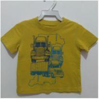 Blusa desenho caminhão Circo 12 meses - 1 ano - Circo