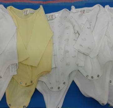 Cinco bodys Zara baby - 3 a 6 meses - Zara Baby