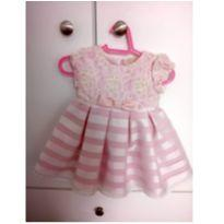 Vestido de princesinha MESMO - 0 a 3 meses - Não informada