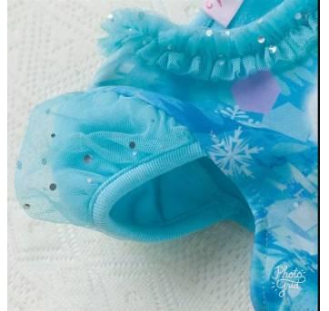 Vestido Frozen - 3 anos - Não informada