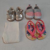 Lote sapatos menina Tam 17