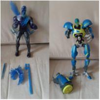 2 bonecos vilão Max steel 30 cm -  - Mattel