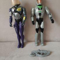 2 bonecos max steel articulados 28 cm -  - Mattel