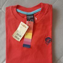 Camiseta Tigor T. Tigre 4 anos nova - 4 anos - Tigor T.  Tigre