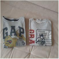 2 camisetas Gap 8 a 11 anos - 8 anos - GAP