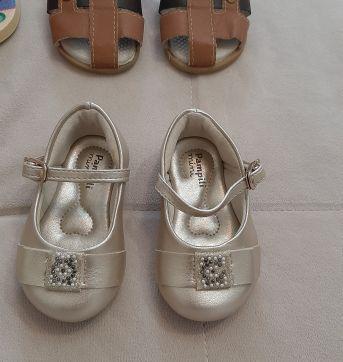 Lote sapatos menina Tam 17 - 17 - LOTE