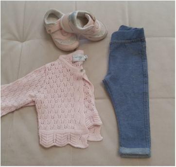 Lote bebê 6 a 9 meses menina - 6 meses - Noruega e Zara Baby