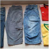 Lote roupas menino 8 anos - 8 anos - Brooksfield Júnior e Adidas e Nike