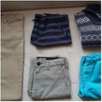 Lote roupas menino 10 anos - 10 anos - OshKosh e Billabong