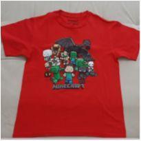 Camiseta Minecraft 10-12 anos - 10 anos - mojang