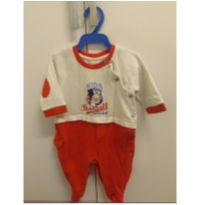 Macacão Baseball League - 3 meses - Baby fashion