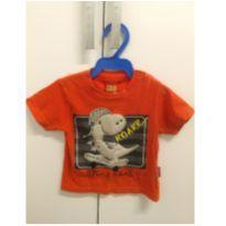 Camiseta Kyly Dinossauro - 3 meses - Kyly