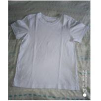 Camiseta branca básica - 4 anos - Rovitex Kids