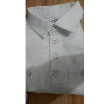 Camisa Branca Tip Top - 9 a 12 meses - Tip Top