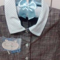 Camisa Baby - 0 a 3 meses - Koxilinho