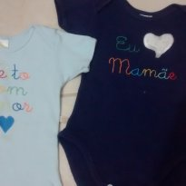 Kit de Body Cheio de Amor - 9 a 12 meses - Best Club