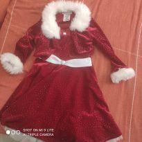 Vestido noite vermelho 4T importado - 4 anos - Não informada