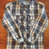 Camisa xadrez - 10 anos - Fuzarka