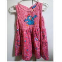 Lindo vestido Galinha Pintadinha - 1 ano - Malwee