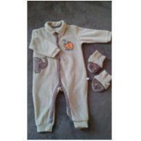 Macacão elephante plush - 9 a 12 meses - Brandili