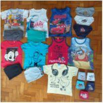 Lotinho menino tam 2 - 2 anos - Disney e kyly, milon e outras