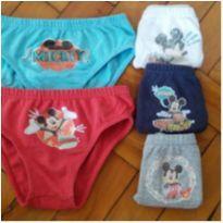 cuecas mickey disney - 2 anos - Disney