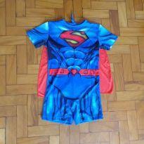 Fantasia superman - 3 anos - Fantasias  Sulamericana