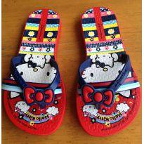 Chinelo Hello Kitty - 25 - Grendene