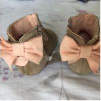 Bota de couro graciosa Zara Mini - 13 - Zara Baby