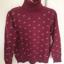 Suéter mosquitinhos - 3 anos - Poim