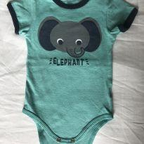 Body elefante - 3 a 6 meses - Teddy Boom