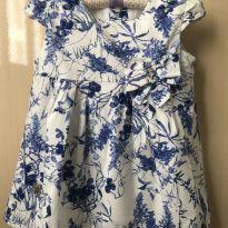 Vestido bebê floral - 6 a 9 meses - Outros