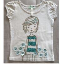 Camiseta Garota - 3 anos - Tip Top